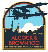 Alcock and Brown Centenary Sign
