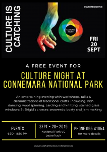 Culture Night Poster September 2019