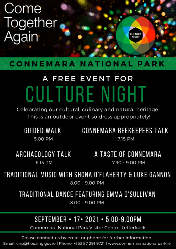 Culture Night September 17 2021 Events